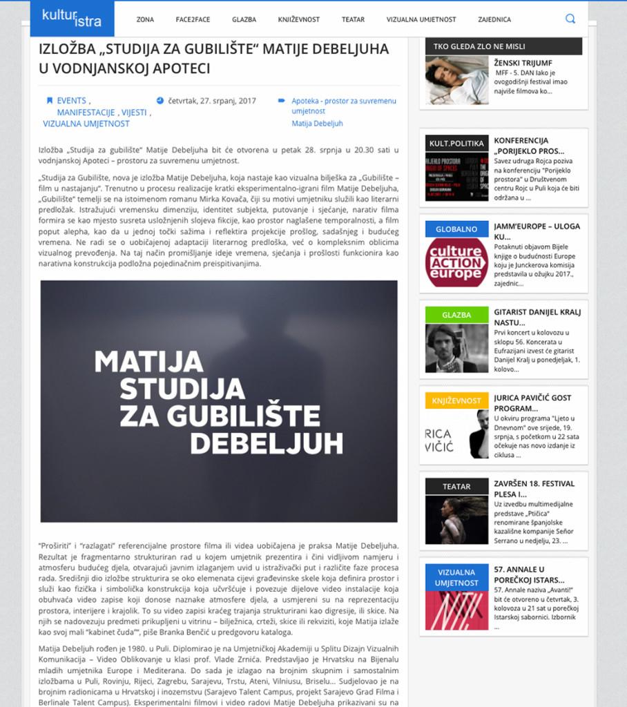 Kulturistra_Matija Debeljuh